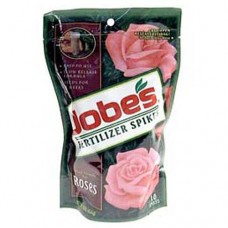 Jobe's Rose Fertilizer Spikes 9-12-9 10 Pack   551510416