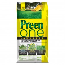 Preen One Lawncare, 18 lb bag covers 5,000 sq ft   567237911