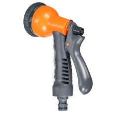 Multi-functional Handheld Soft Grip Garden Spray Gun Nozzle Hose Water Sprayer Watering Flower, Trees