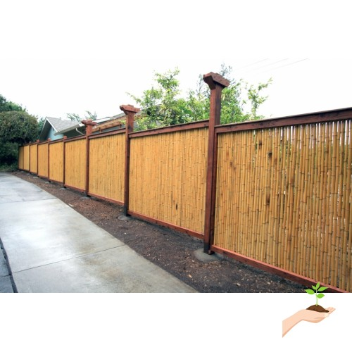Backyard X-Scapes Bamboo Fencing, Natural 553741671