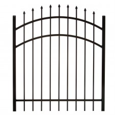 Specrail Madison Aluminum Arched Gate 3-Rail Panel - 4 ft.