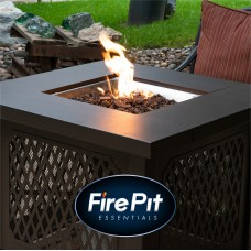 "Black Lava Rock | 3/4"" Volcanic Lava Rock for Fire Pits & Fireplaces"