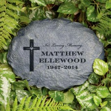 Personalized In Loving Memory Garden Stone   553354168