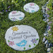 Personalized Mosaic Garden Stepping Stone, Available in 2 Sizes   555403477
