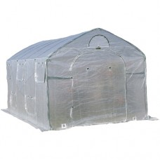 Flowerhouse 8'L x 9'W x 15'H Easy Pop-Up FarmHouse Greenhouse   552080405