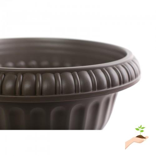 Bloem Grecian Urn Pedestal Planter 18 Black 552583994
