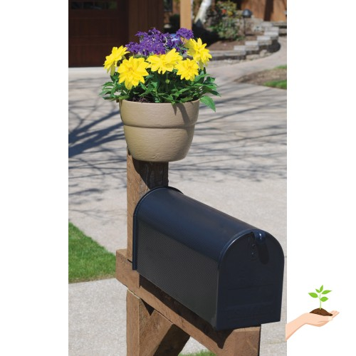 Bloomers Post Planter – Both Permanent and Temporary Installation