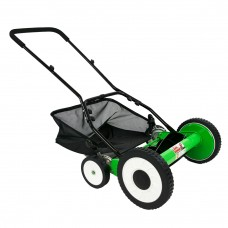 DuroStar Lawn Demon DS1600LD 16-Inch 5-Blade Height Adjusting Push Reel Mower
