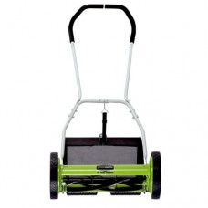 Greenworks 16-Inch Reel Lawn Mower with Grass Catcher 25052   550250766