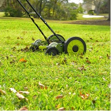 Sun Joe MJ504M Manual Reel Mower w/o Grass Catcher | 16 inch | 9 Height Positions   566746271