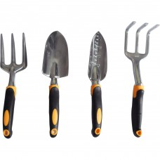 GardenHOME Ergonomic and Durable 4-Piece Garden Tool Set   557012659