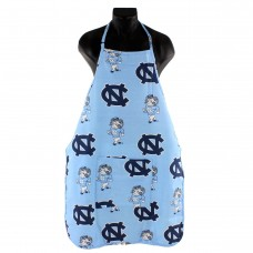 "North Carolina Tar Heels Tailgating or Grilling Apron With 9"" Pocket, Fully Adjustable   567587291"