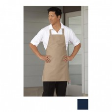 Uncommon Threads 3010-1600 Ajustable Bib Apron No Pockets in Navy