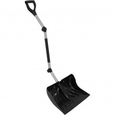 18-Inch Adjustable Ergonomic Snow Shovel Pusher Combo Design by CASL Brands   567147216