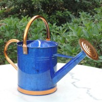 Austram-Griffith Creek Designs Deluxe Watering Can with Copper Accents