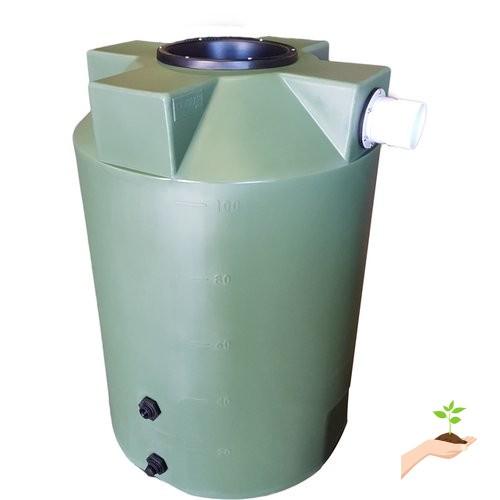 Poly Mart 100 Gallon Rain Barrel
