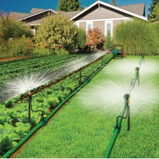 Elgo 2-in-1 Watering Kit Combo, Micro Sprinklers and 82' Drip Line   555831066