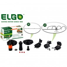 Elgo Planters Drip Kit for 3 to 4 Patio or Deck Planters   555831034