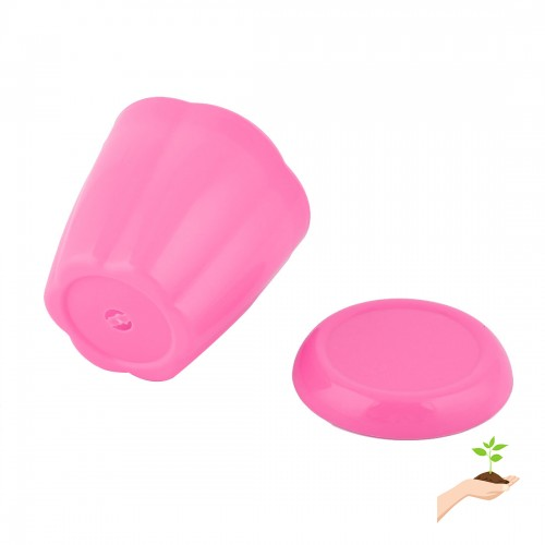 Plastic Table Decoration Plant Container Planter Holder Flower Pot