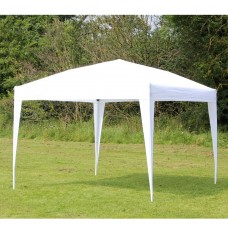 10 x 10 PALM SPRINGS EZ POP UP WHITE CANOPY GAZEBO TENT NEW