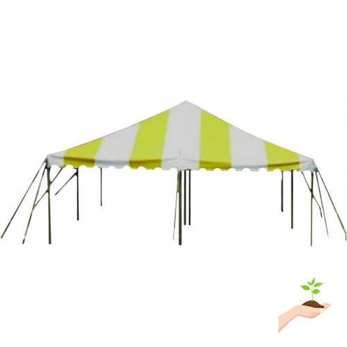 Party Tents Direct 20x20 Outdoor Wedding Canopy Event Pole
