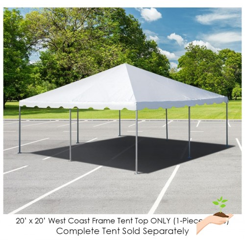 Party Tents Direct 20x20 Outdoor Wedding Canopy Event Tent Top ONLY ...