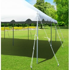 Party Tents Direct 20x30 Outdoor Wedding Canopy Event Pole Tent (Red)
