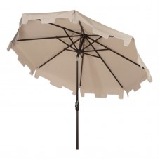 Safavieh Zimmerman 9' Market Umbrella, Multiple Colors   554002547