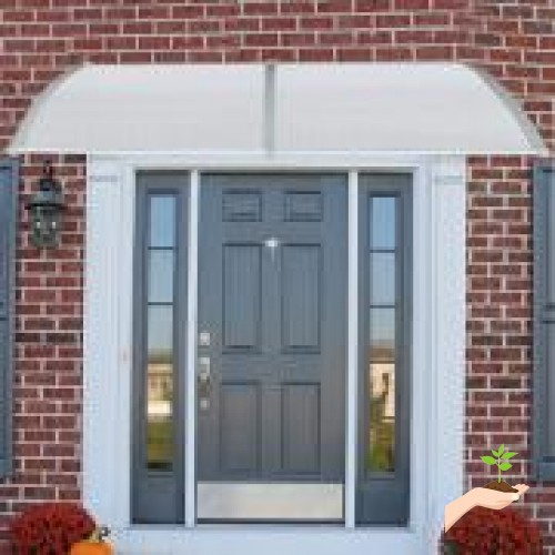 Jeobest 39 4 X 78 7 Inch Window Awning Outdoor Outdoor Door Awning
