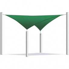 Aleko Square Waterproof Sun Shade Sail Canopy Tent Replacement, Choose Your Size And Color   555753834
