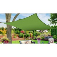 Sun Shade Sail Canopy, Square,Beige,12' x 12'   563252082