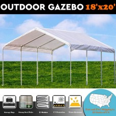 20'x18' PE Shelter Party Tent Canopy Carport - by DELTA Canopies