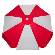 Buoy Beach Eight Panel Beach Umbrella with Shade Anchor