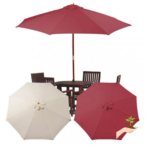 Umbrella Replacement Canopy Outdoor Top Cover 10 Feet Sun Shade Sail