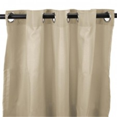 544 in. x 84 in. Outdoor Curtain - Solid Linen
