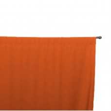 Easy Way Solid Sunbrella Outdoor Drape with Rod Pocket Top