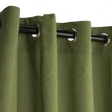 Gracie Oaks Mccampbell Outdoor Single Curtain Panel
