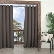 Parasol Key Largo Solid Indoor Outdoor Window Curtain Panel   558270680