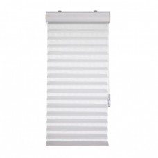 Heeshade V7242WH Plain Sheer Shade, White - 72 x 42 x 2 in.