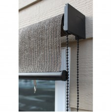 Keystone Fabrics, Non-Valanced, Cord Operated, Outdoor Solar Shade, 6' Wide x 6' Drop, Glenwood   555618465