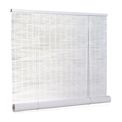 Radiance 1/4 in. Oval PVC Indoor/Outdoor Roll-Up Blind
