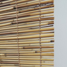 Radiance Peeled and Polished Natural Woven Reed Roll Up Shades   553966983